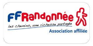 Logo asso affiliée FF Randonnée