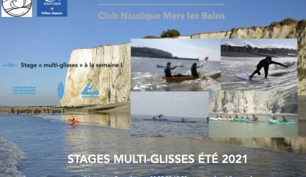 Stages multi-glisses été 2021