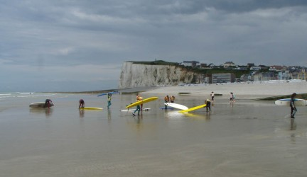 Section Surf du collège Joliot Curie de Mers