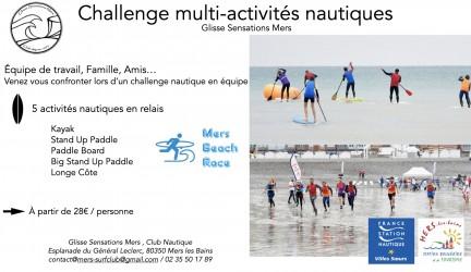 Challenge multi-activités nautiques