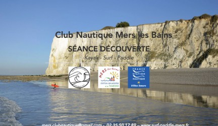 Activités Nautiques Vacances de Pâques 2021 à Mers les Bains